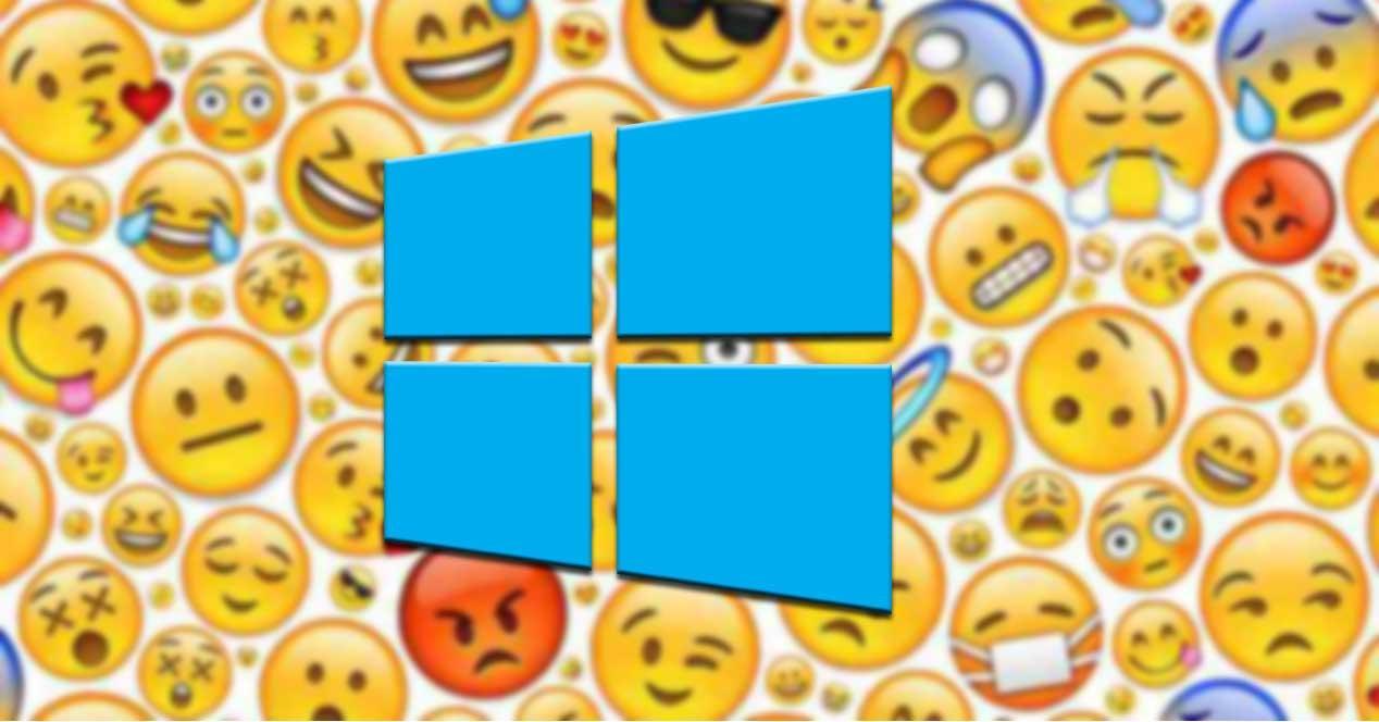 Utilizar y descargar emojis en Windows 10