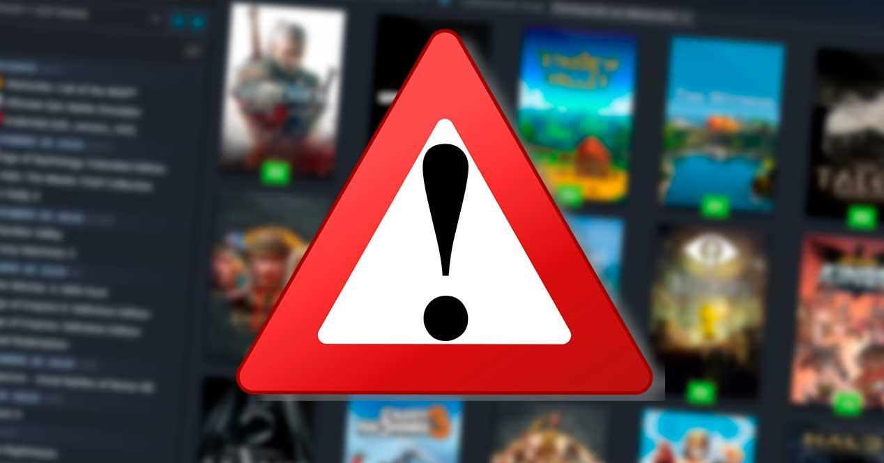 Error juegos Steam