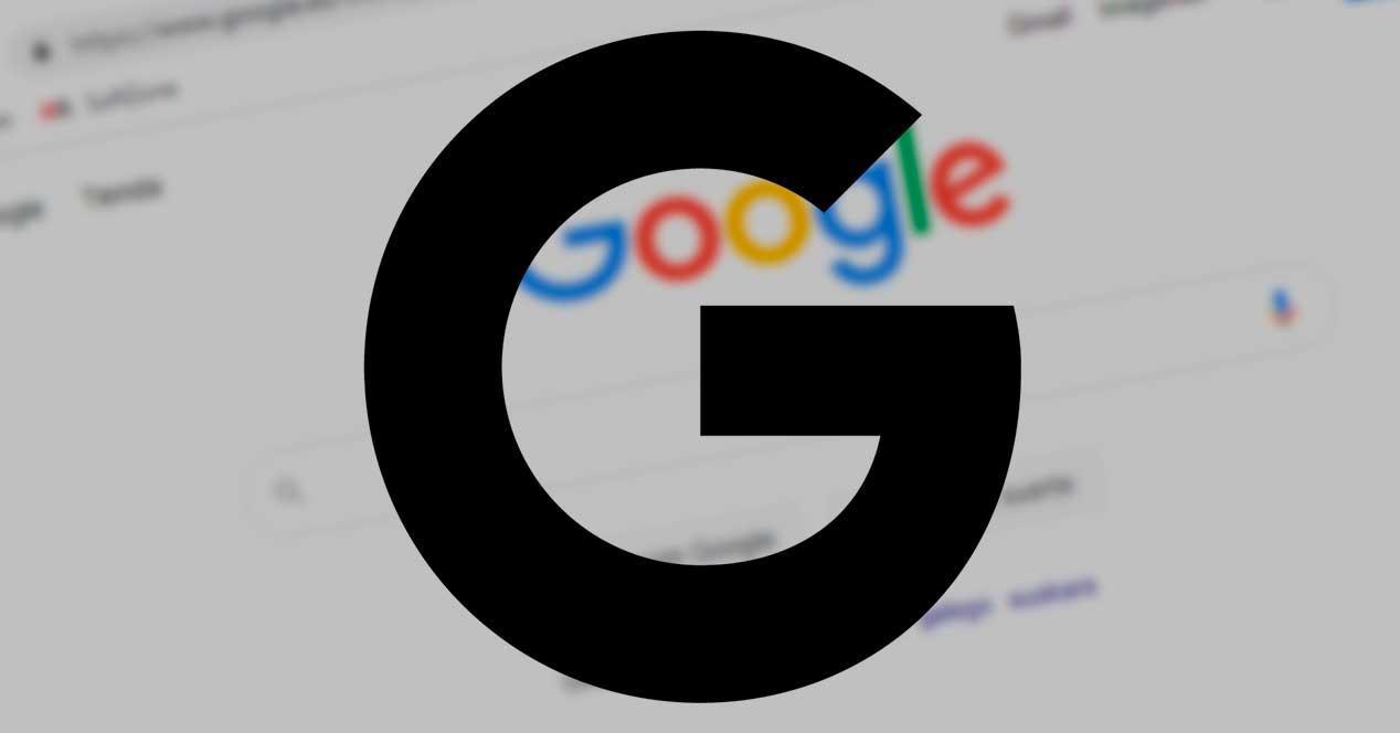 Google tema oscuro