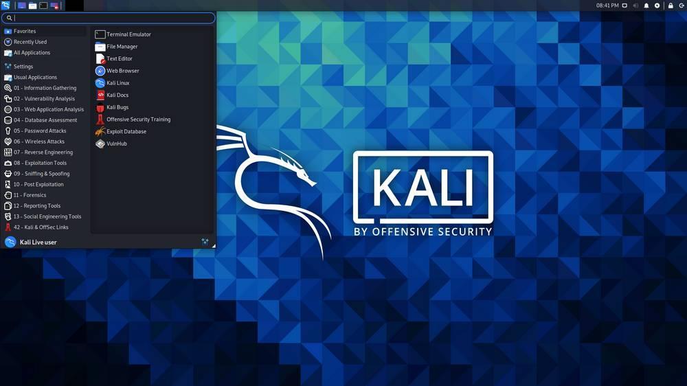 Kali Linux 2021.1, novedades y descarga de la suite de hacking ético