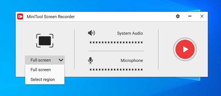 MiniTool uTube Downloader grabar pantalla