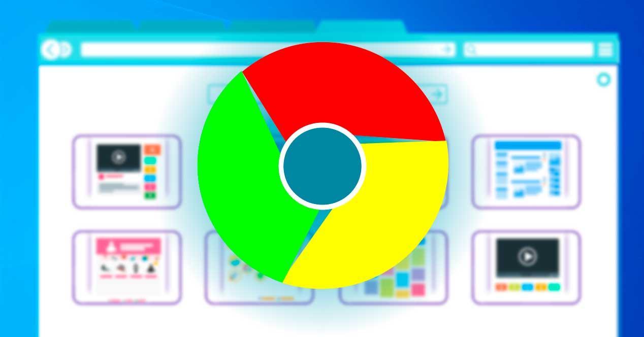 Navegación Chrome Internet
