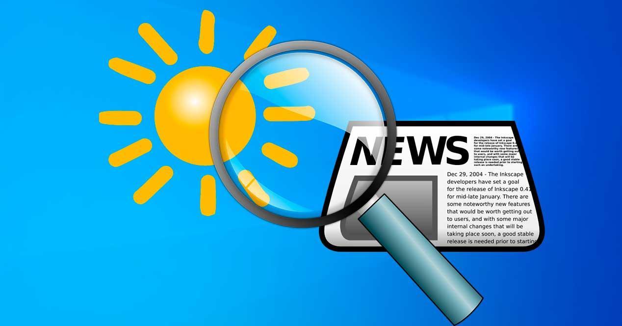 Noticias tiempo W10