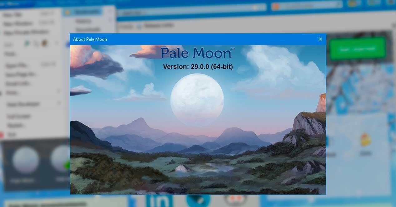 Pale Moon 29 64 bits