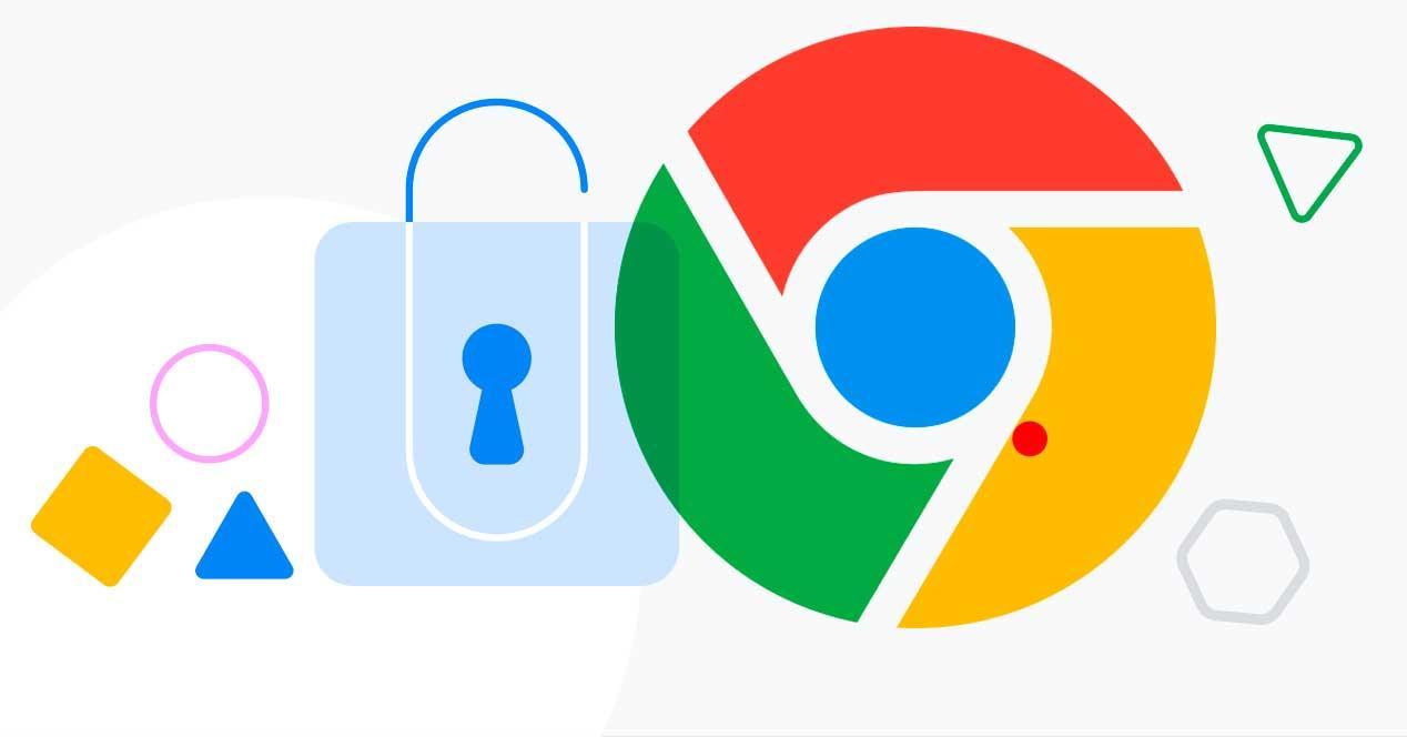 Seguridad avanzada Chrome