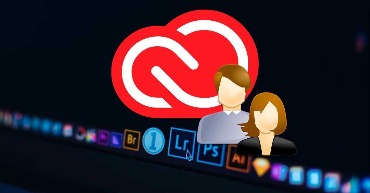 Usuarios programas Adobe Creative Cloud