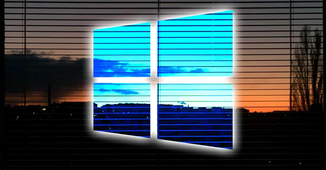 Anochecer Windows 10