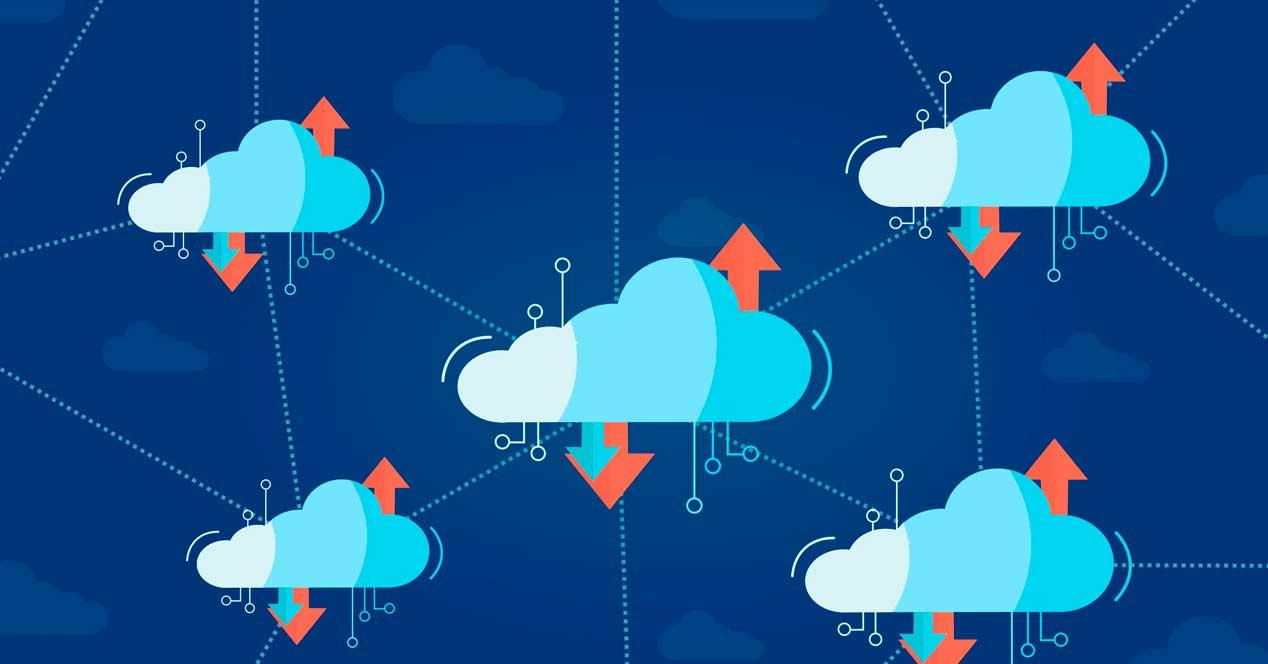 Archivos sincronizar nube