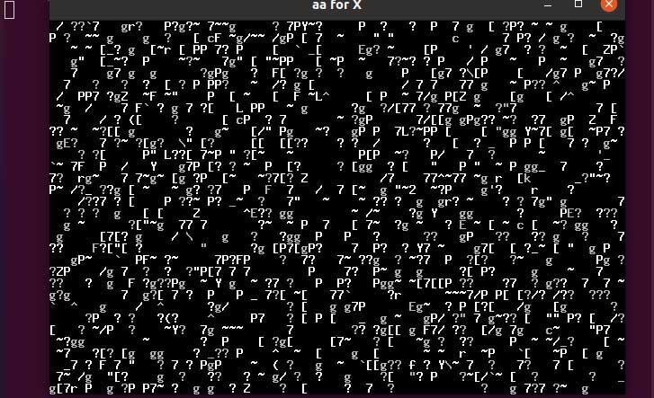BB comando huevos de pascua de linux