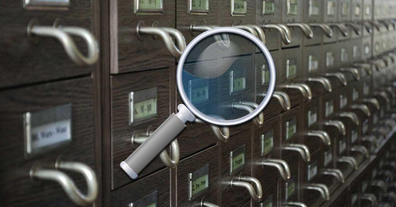 Buscador archivos