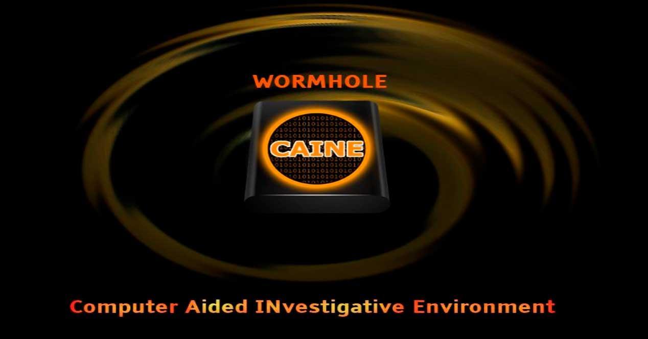 CAINE Linux Wormhole