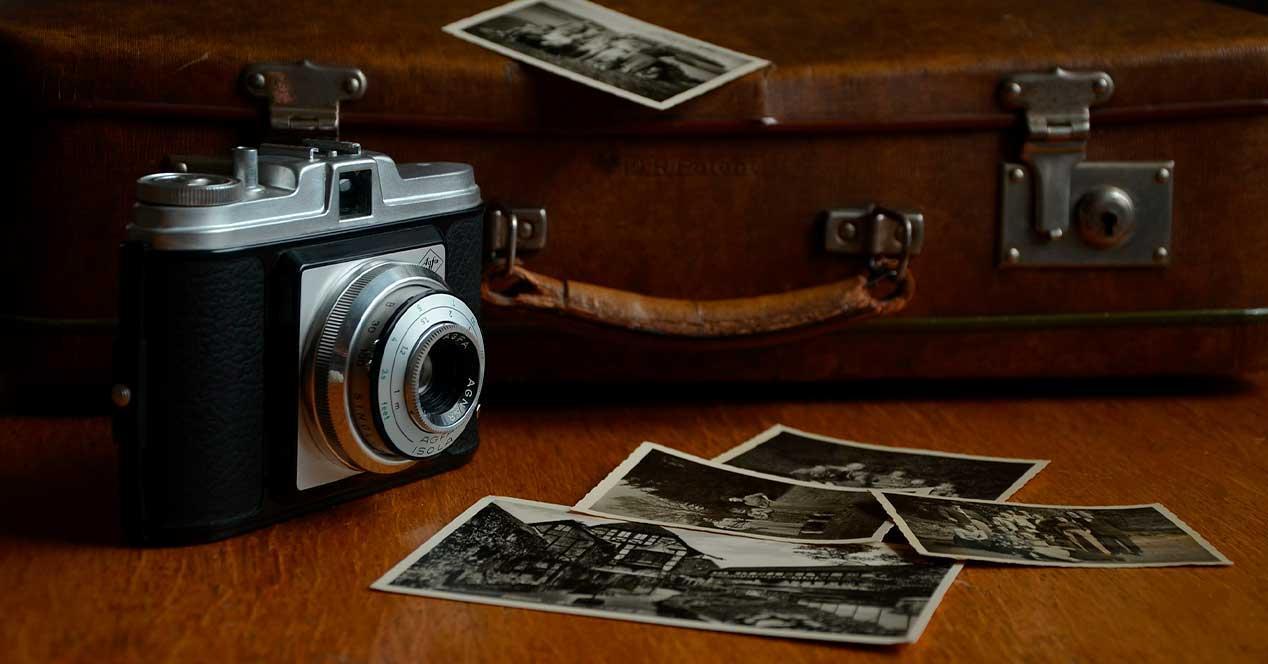 Camara fotos antigua