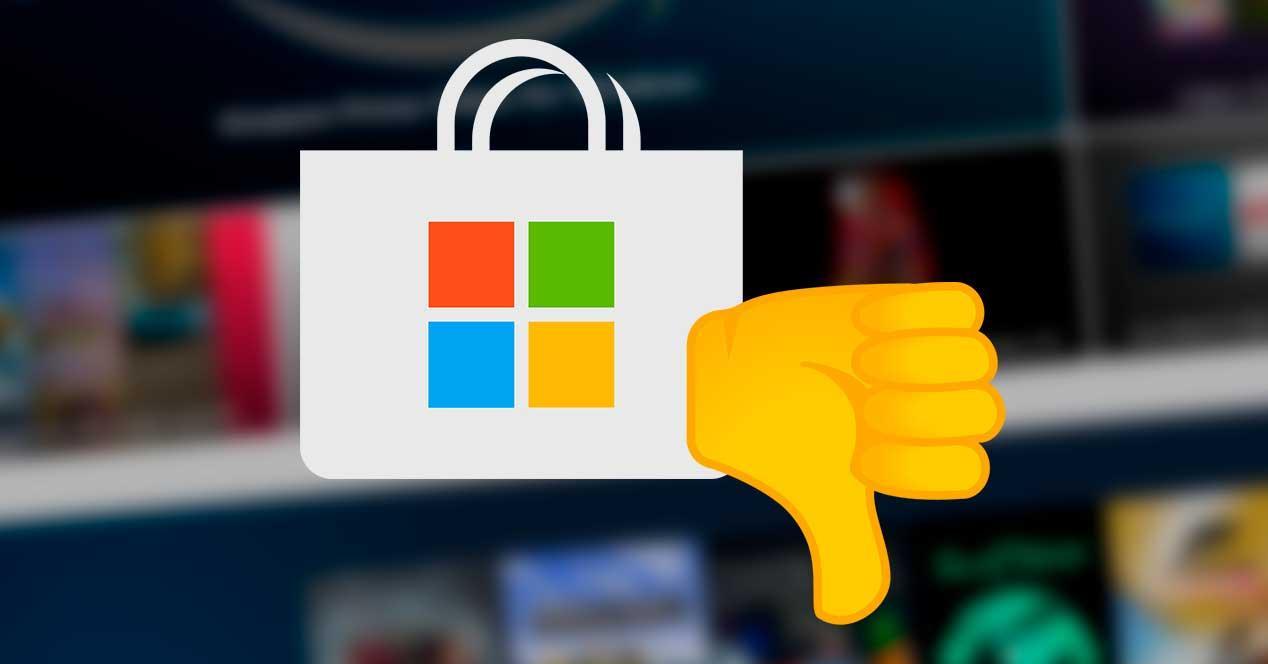 Cierre Microsoft Store