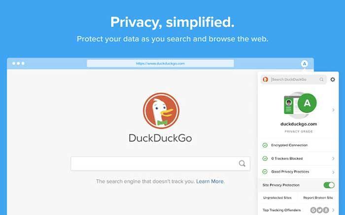 DuckDuckGo Privacy Essentials