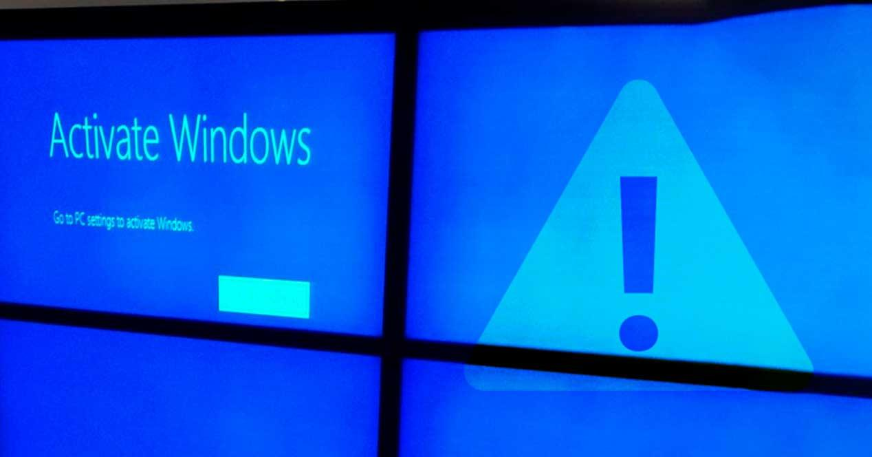 Error activar Windows