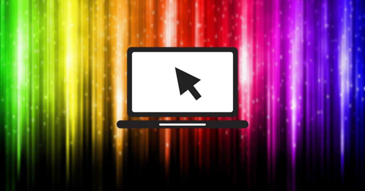 HP Display Control configurar pantalla