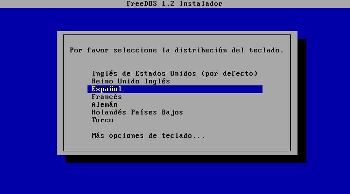 Install FreeDOS - 10