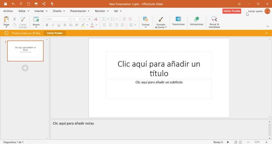 OfficeSuite Slides