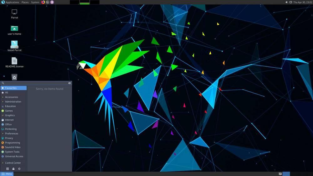 Parrot OS 4.11