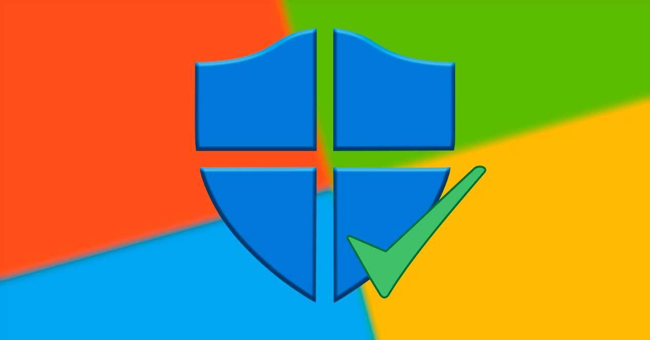 Protección correcta Windows Defender