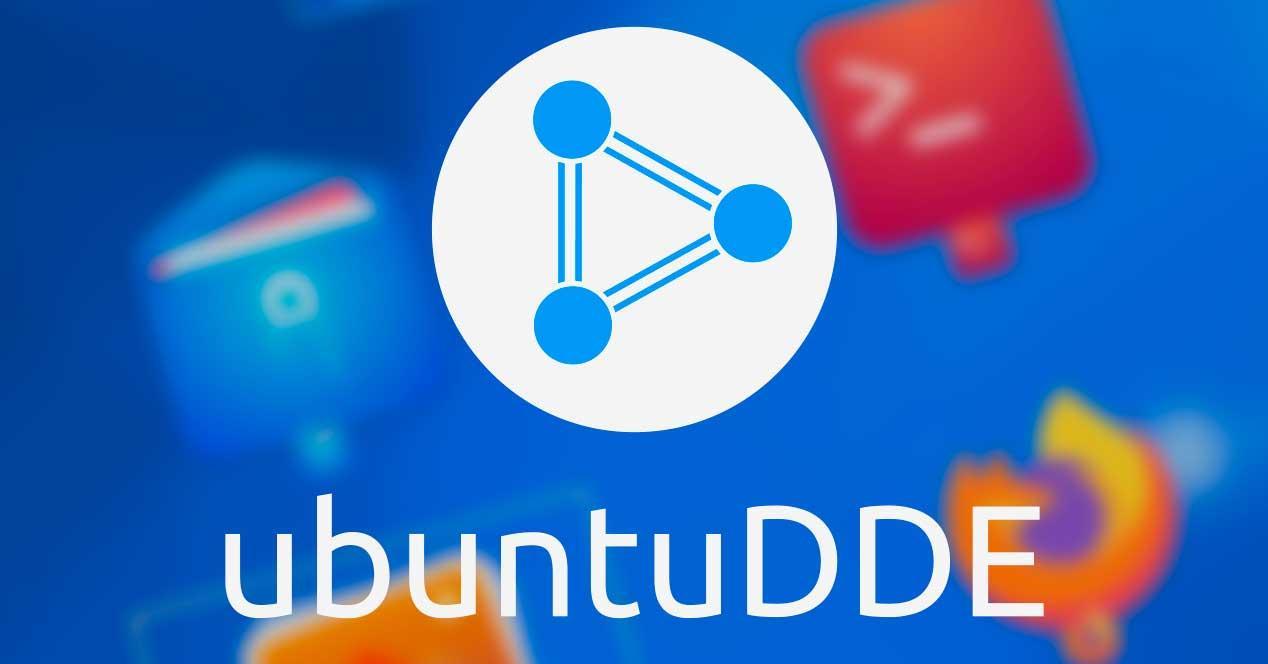 UbuntuDDE logo con apps