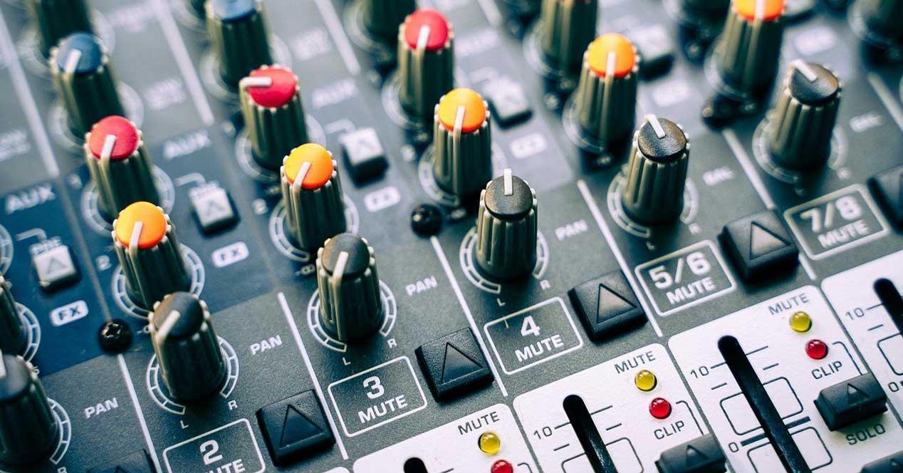 Volumen audio