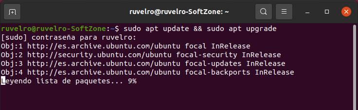 Апт апгрейд Linux Ubuntu 20.04