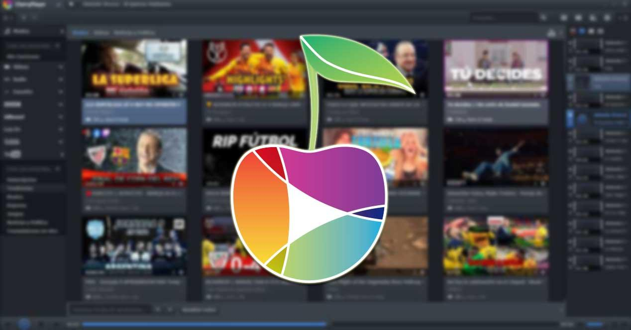 CherryPlayer, reproductor multimedia