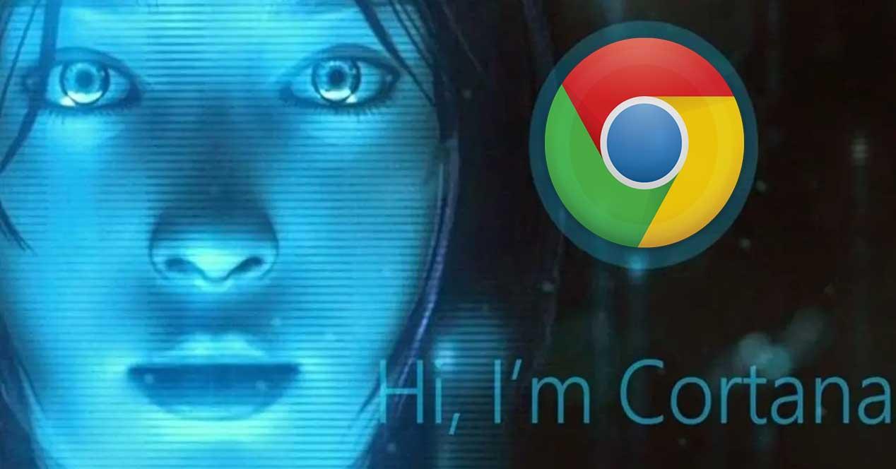 Cortana Chrome