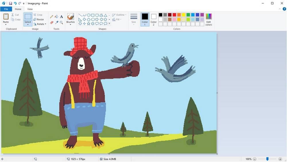 Dibujo MS Paint