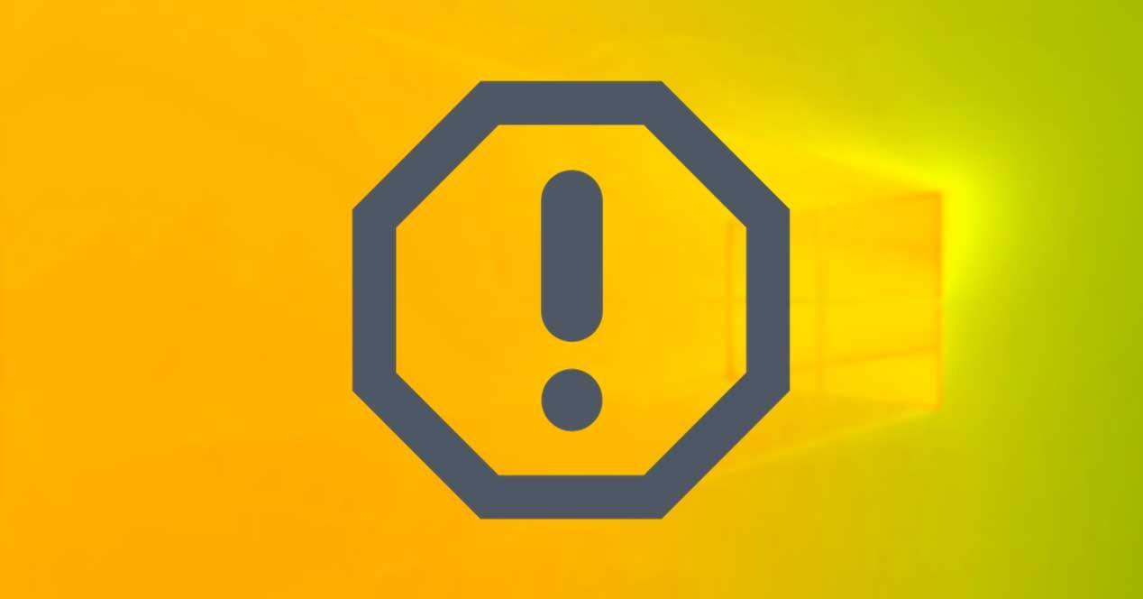 Error crítico Windows