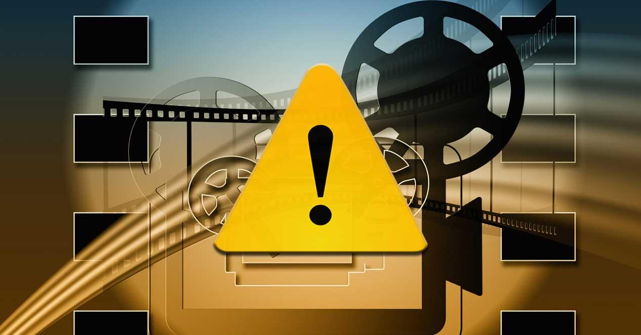 Error vídeos
