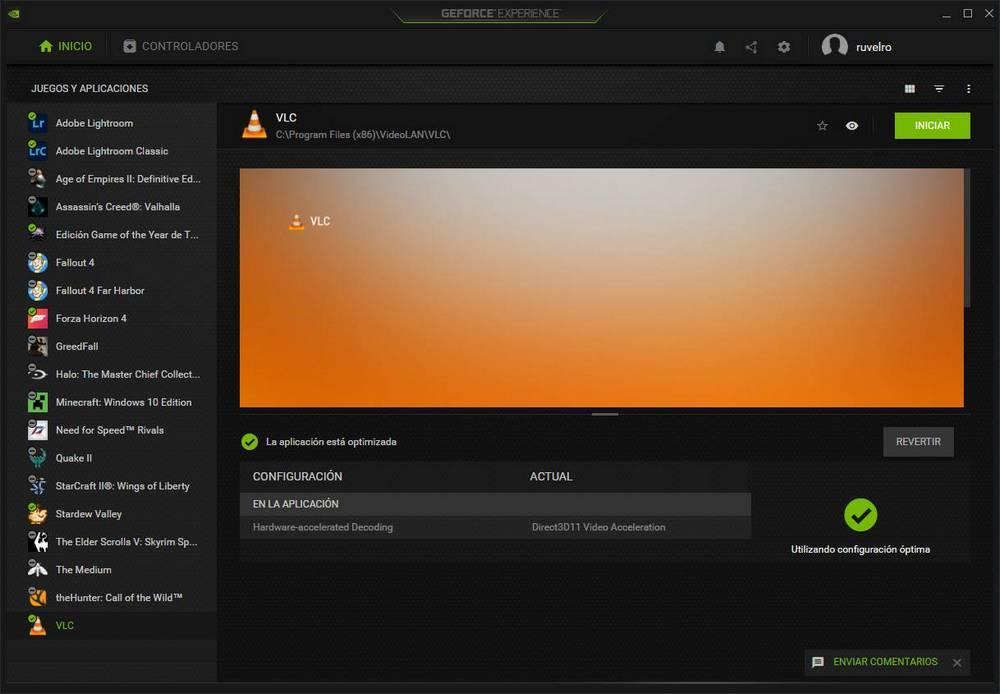 GeForce Experience 3.22 - Optimizar apps 2