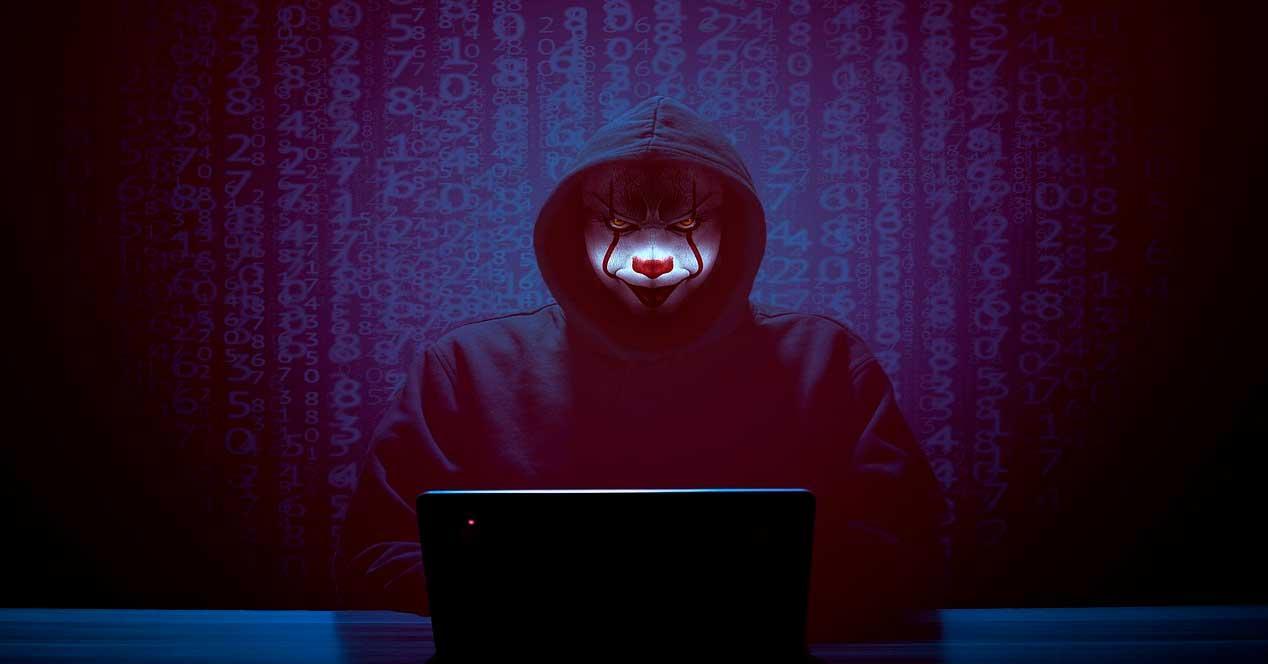 Hacker peligro seguridad