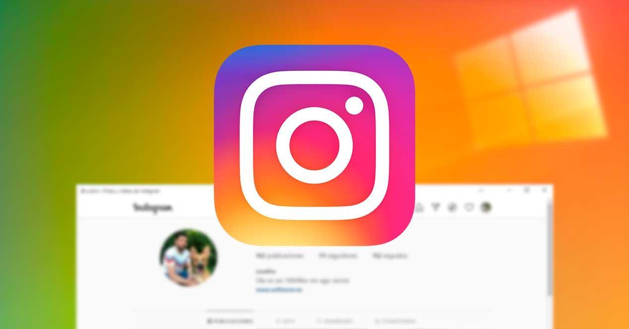 Instagram PWA para Windows 10