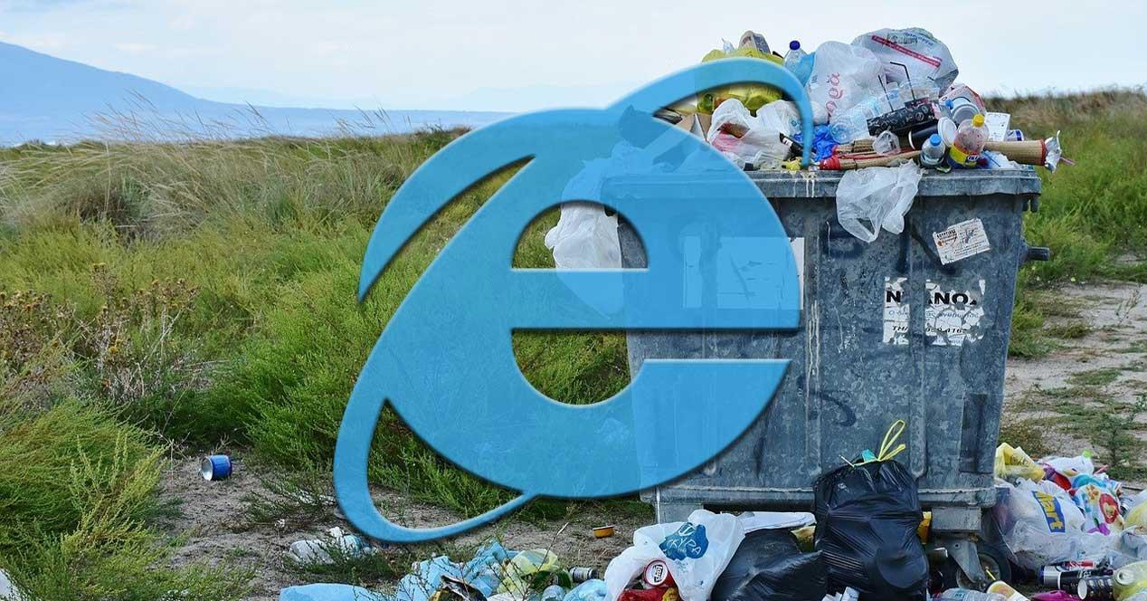 Internet explorer quitar