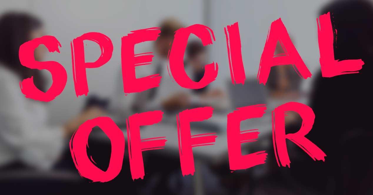 Oferta especial Software