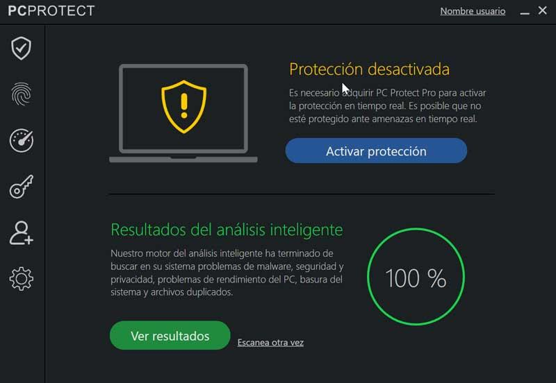 PCProtect protección anti malware