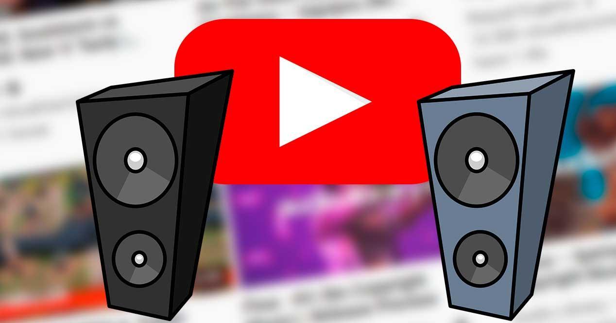 Sonido YouTube