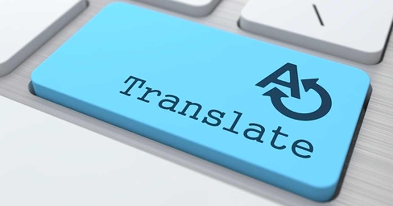 Traducción tecla