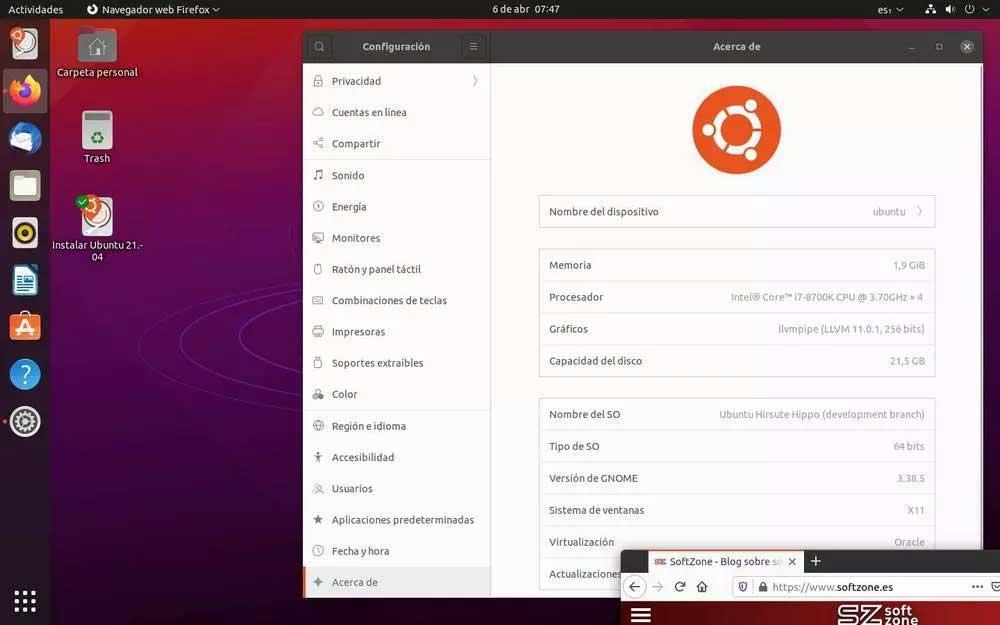 Ubuntu 21 04