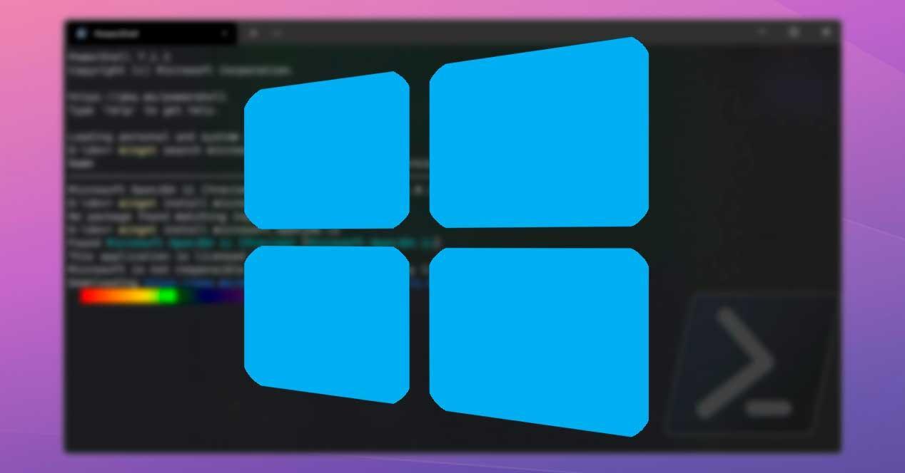 Windows 10 Terminal redondo