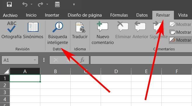 busqueda inteligente Excel