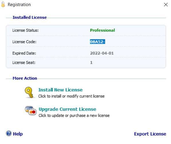licencia software programas