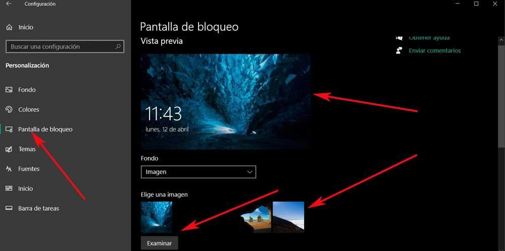 pantalla bloqueo cambiar foto