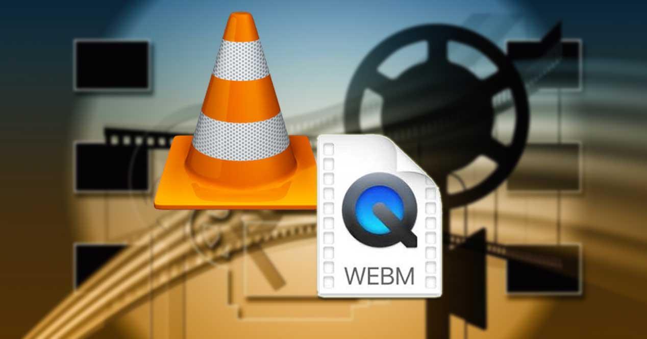 Abrir archivos WebM con VLC
