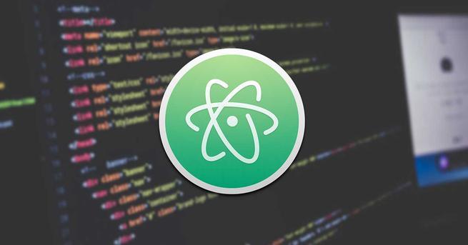 Atom editor de texto y código fuente