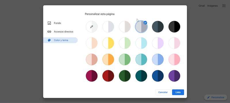 Chrome Color and Theme