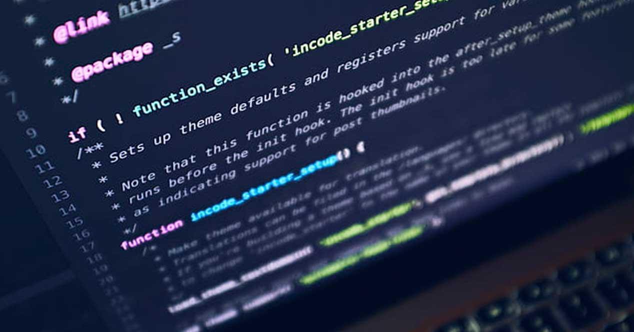 Código programación