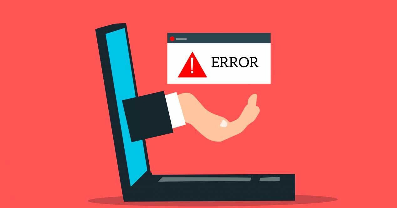 Error PC Actualizar